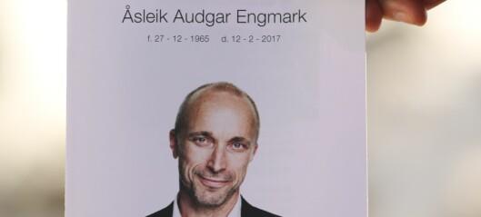 Nå er Åsleik Engmark bisatt: - Det var en fin, lang og trist seremoni