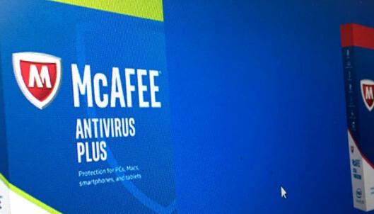 McAfee lover bot og bedring etter Dinside-kritikk