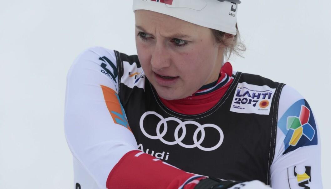 Østberg vraket til stafettlaget: - Hun tok dette tungt