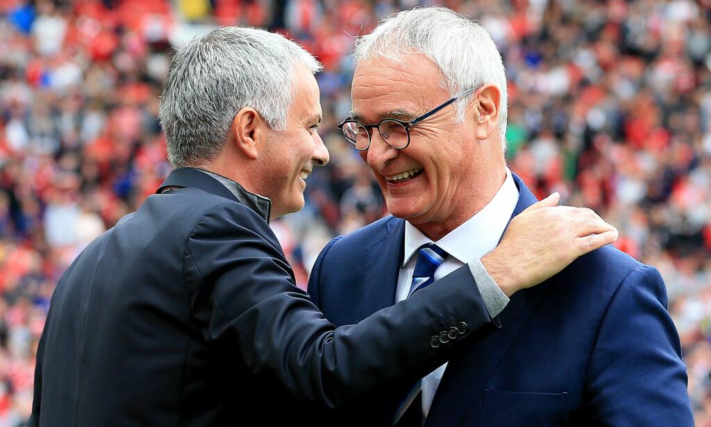 HAR BLITT MOBBET: José Mourinho har kalt Claudio Ranieri for en taper. Foto: PA/NTB Scanpix