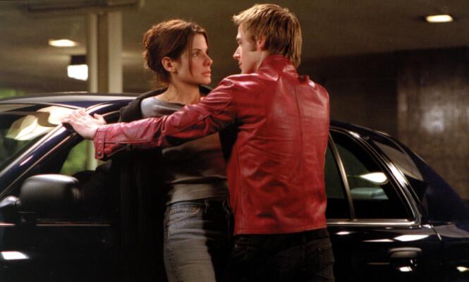 <strong>MOTSPILLERE:</strong> Sandra Bullock og Ryan Gosling i en scene fra «Muder by Numbers», som gikk på kino i 2002. Foto: Mary Evans Picture/ NTB scanpix