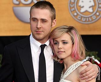 <strong>OGSÅ EKSER:</strong> Ryan Gosling og Rachel McAdams på SAG Awards i 2007. Foto: GABRIEL BOUYS / AP/ NTB scanpix