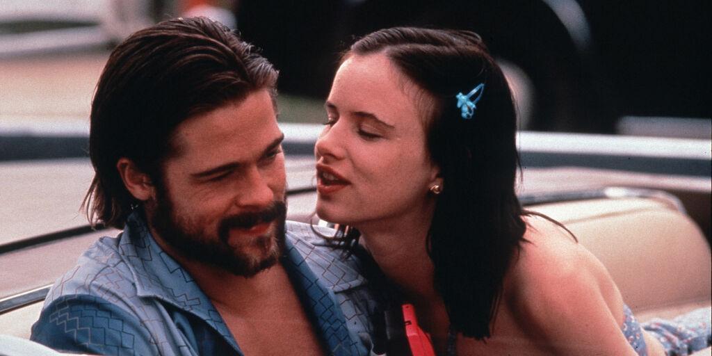 image: I 1996 forlovet Brad Pitt seg med Gwyneth Paltrow. Tre år tidligere var han i et helt annet forhold - husker du med hvem?