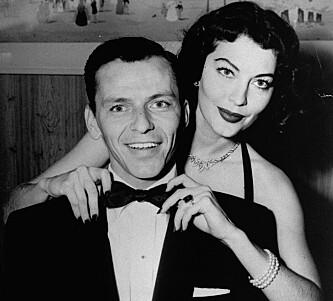 <strong>IKONISK PAR:</strong> Ava Gardner og Frank Sinatra i 1951. Foto: AP/ NTB scanpix&nbsp;