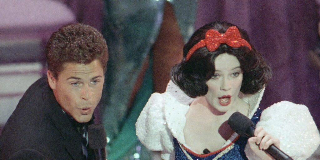 image: Oscarøyeblikkene vi aldri glemmer: Fra romansedramaet som ledet til mord, søksmål fra Disney og Lettermans vitsekrise