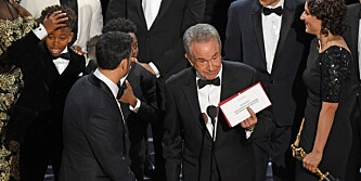 «Moonlight» vant Oscar for beste film. Ved en feil ble «La La Land» utropt som vinner fra scenen.