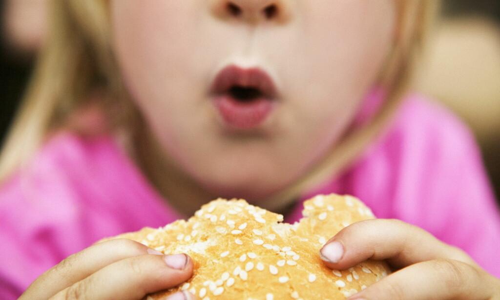 SVERIGE: Nærmere 23 prosent av guttene som ble født i 1991 var overvektige eller fete da de var åtte år. For barn født i 2006 gjaldt det drøyt 19 prosent. <br>Foto: Scanpix.