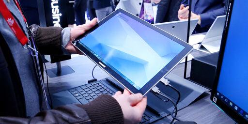 image: Mye gammelt og litt nytt fra Samsung på mobilmessa