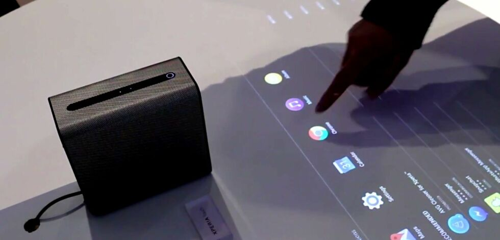 image: Sony Xperia Touch - hands on