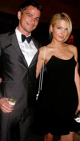 NORSK EKS-KJÆRESTE: Hartnett har tidligere vært sammen med norske Sophia. Her er paret på en fest i New York sammen i 2011. Foto: NTB Scanpix