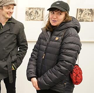 PÅ BESØK: Den amerikanske stjerna Lena Dunham er i Oslo denne uka. Foto: Per Ervland