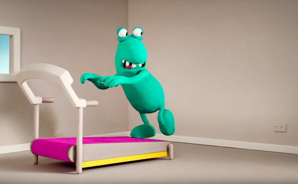 FORSVINNER: Likte du plastelinafigurene til DJuice? Nå forsvinner selskapet, og dermed trolig reklamene, til fordel for Telenor. Foto: Djuice