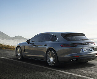 Porsches stasjonsvogn heter Sport Turismo