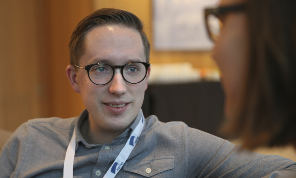 GÅR AV: Kristian Tonning Riise trekker seg som leder for Unge Høyre som følge en følge av metoo-kampanjen. Foto: Vidar Ruud / NTB scanpix