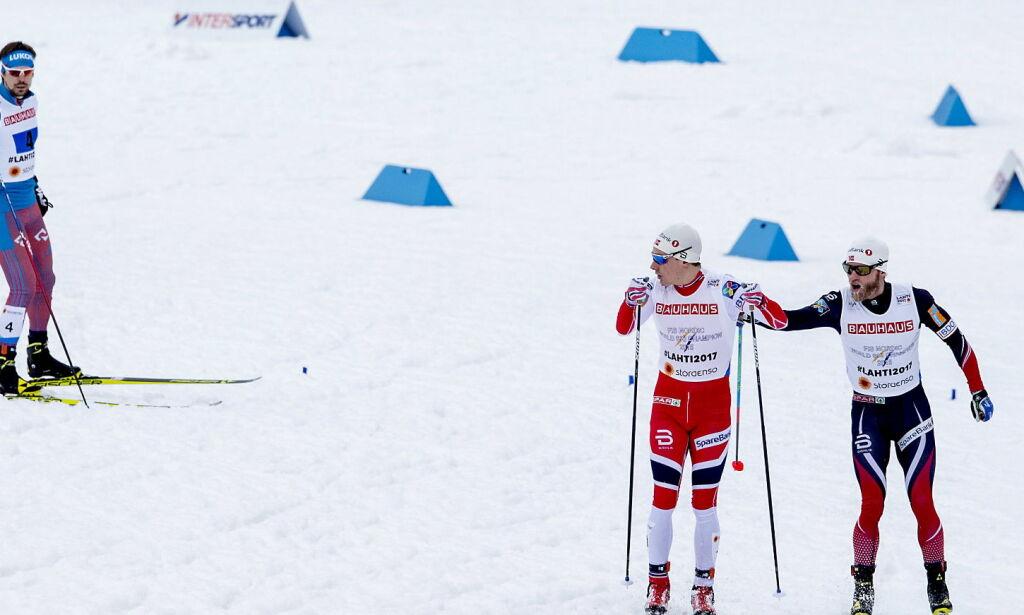 image: Dyrhaug slo Sundby med fem minutter - i klassisk. Svensker og russere reagerer: - Hva i all verden? Er det sant?