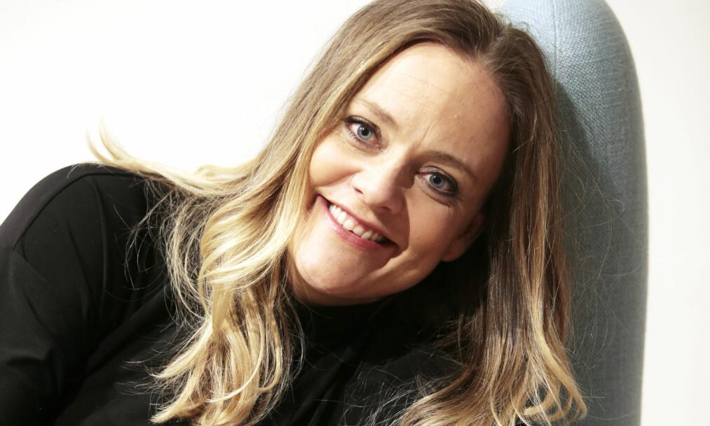 FORELSKET: Skuespiller Henriette Steensrup har fått ny kjæreste etter bruddet med Fridtjov Såheim, men understreker at forholdet begynte først etter at ekteskapet hennes var over. Foto: Lise Åserud / NTB scanpix