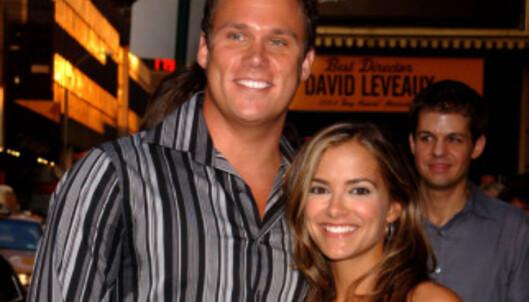 <strong>SKILTE SEG:</strong> Bob Guiney og såpeoperastjernen Rebecca Budig var gift i fem år. Foto: NTB Scanpix