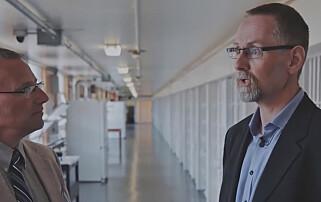 BESØKTE USA: Jan Strømnes reiste til USA-fengslene Attica State Prison i New York og North Dakota State Penitentiary. Foto: Dokumentaren «Fra Halden til Attica» / YLE, Finland