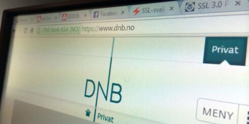Dnbs nettbank har tekniske problemer