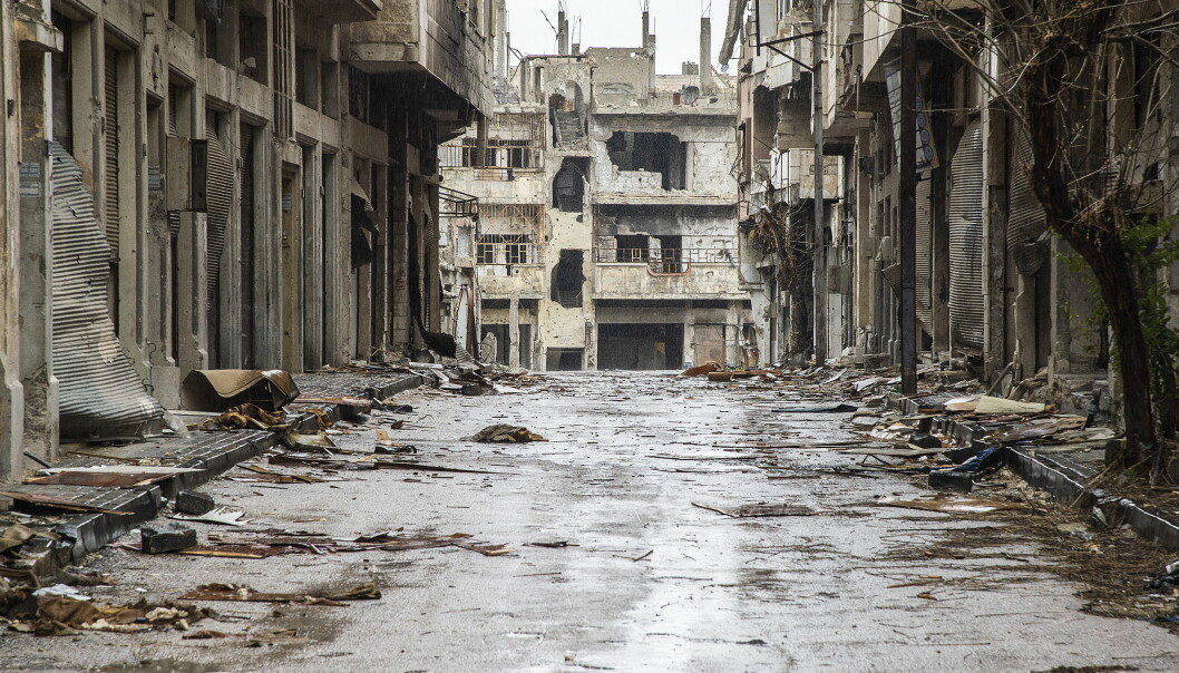 <strong>HOMS:</strong> Russland varsler våpenhvile i den hittil tredje såkalte sikre sonen i Syria. Området ligger i Homs-provinsen og har vært beleiret av regjeringsstyrker i årevis. Foto: Hans Arne Vedlog / Dagbladet .