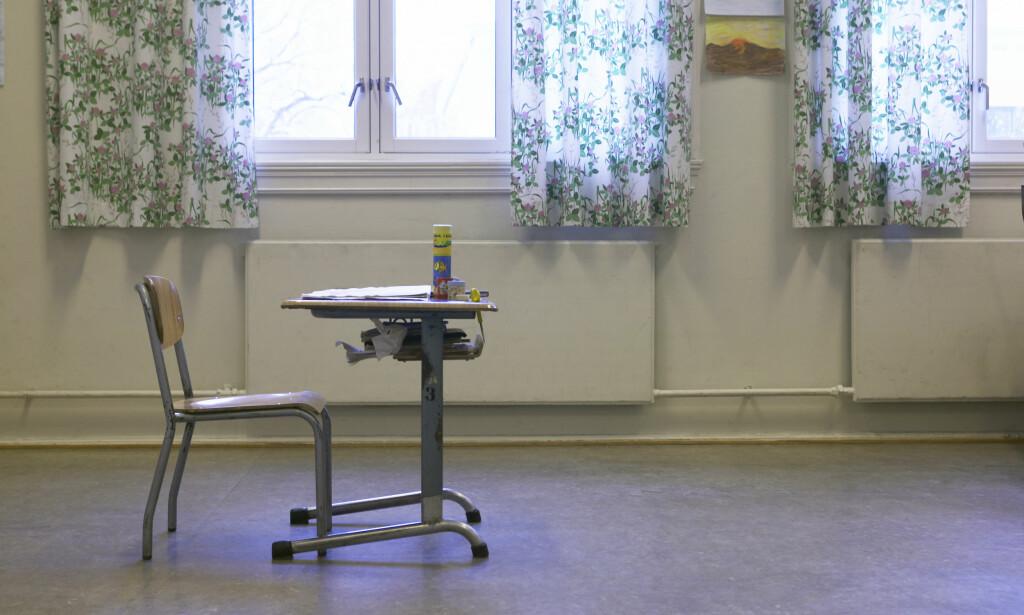 NULLTOLERANSE: Læreren har ikke lenger et arbeidsforhold i kommunen. Foto: Berit Roald/ NTB Scanpix