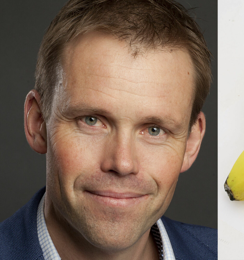 <strong>SOV GODT:</strong> Søvnekspert Harald Hrubos-Strøm unner seg gjerne en banen hvis han er sulten før leggetid. Foto: Sturlason og Aller arkiv