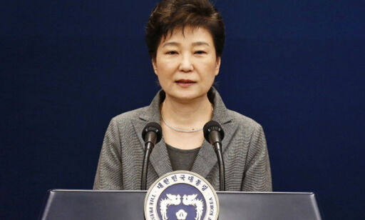 image: Sør-Koreas president Park avsatt for korrupsjon