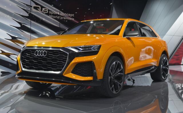 Audi Q8 Sport Concept Ny 48v Audi Kommende Toppmodell I Ny
