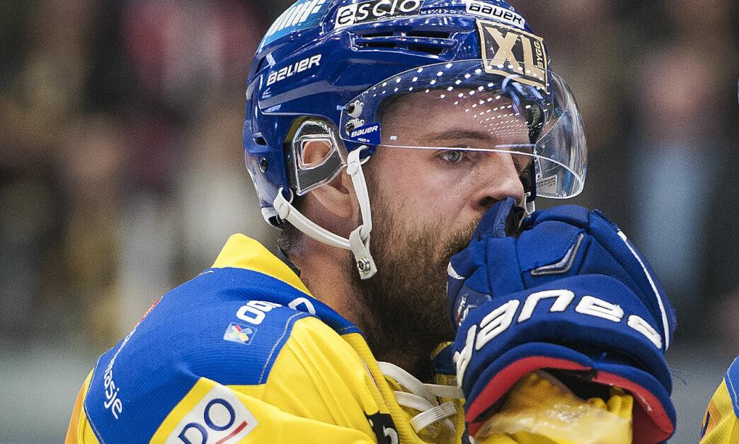 <strong>AVGJORDE:</strong> Storhamars Joakim Jensen.  Foto: Carina Johansen / NTB Scanpix