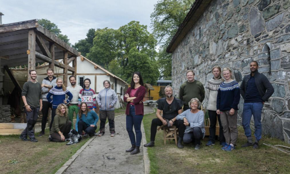 KAN BLI SISTE SESONG: Fra starten av januar begynte den tredje sesongen av «Anno» på NRK. Nå melder kanalen selv at det kan hende at den tredje sesongen blir den siste. Prosjektet er foreløpig lagt på is. Foto: Frank Foss / STRIX / NRK