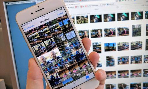 image: Alt du lurer på om lagring av bilder i iCloud