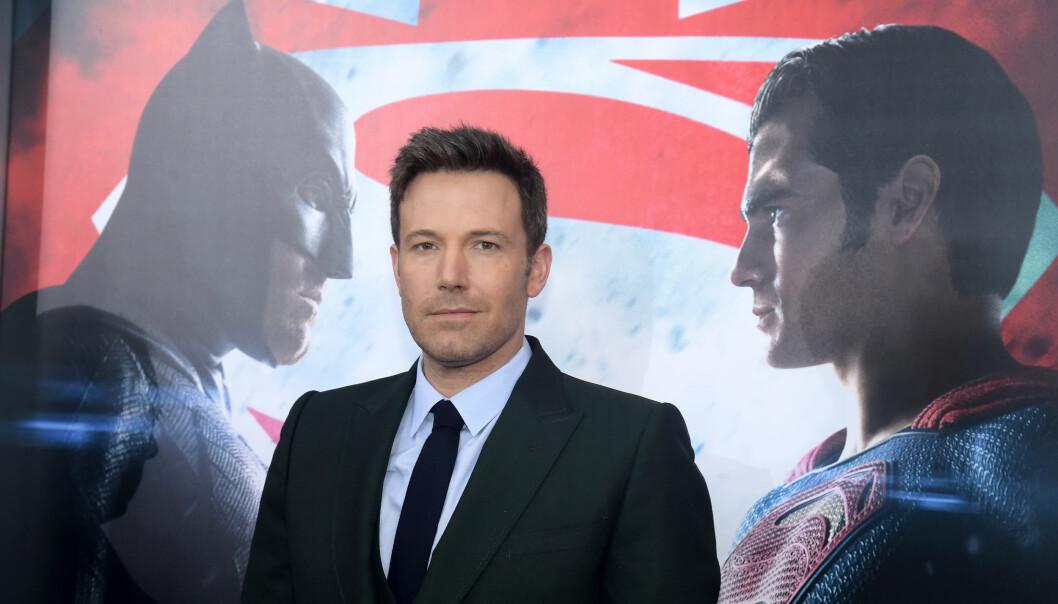 <strong>«BATMAN»:</strong> Ben Affleck trapper ned på «Batman» jobbing, og skal ikke regissere neste film. Foto: NTB scanpix