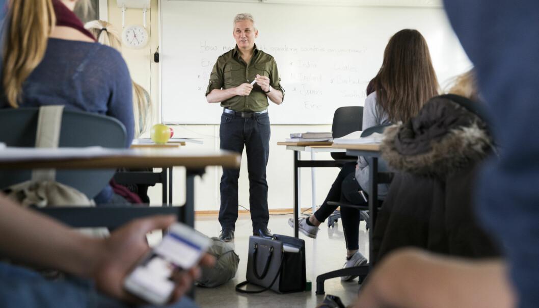 <strong>FORSKJELLIGE BEGREPER:</strong> En klasse med 30 elever kan ha fått undervisning i grupper som i gjennomsnitt var mindre enn en klasse med 25 elever, skriver artikkelforfatteren. Foto: Berit Roald / NTB scanpix&nbsp;