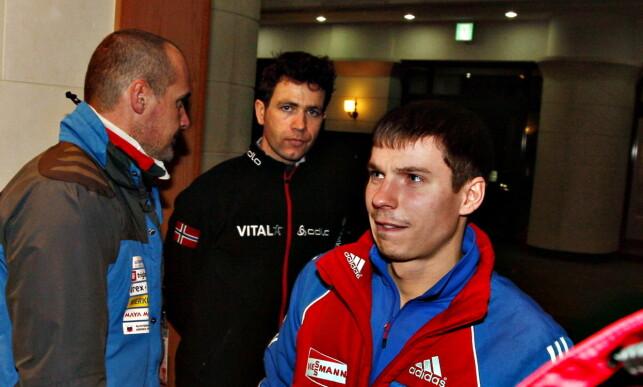 KAOS: Bjørndalen ble fratatt gullet han tok i jaktstarten i VM i Pyeongchang i 2009. Få timer senere, fikk han det tilbake. Foto: Arnt E. Folvik / Dagbladet