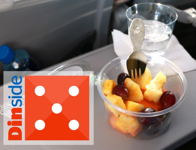 <strong>FRUKTSALAT:</strong> Fersk og fin fruktsalat. Tommel opp! Foto: Hanna Sikkeland