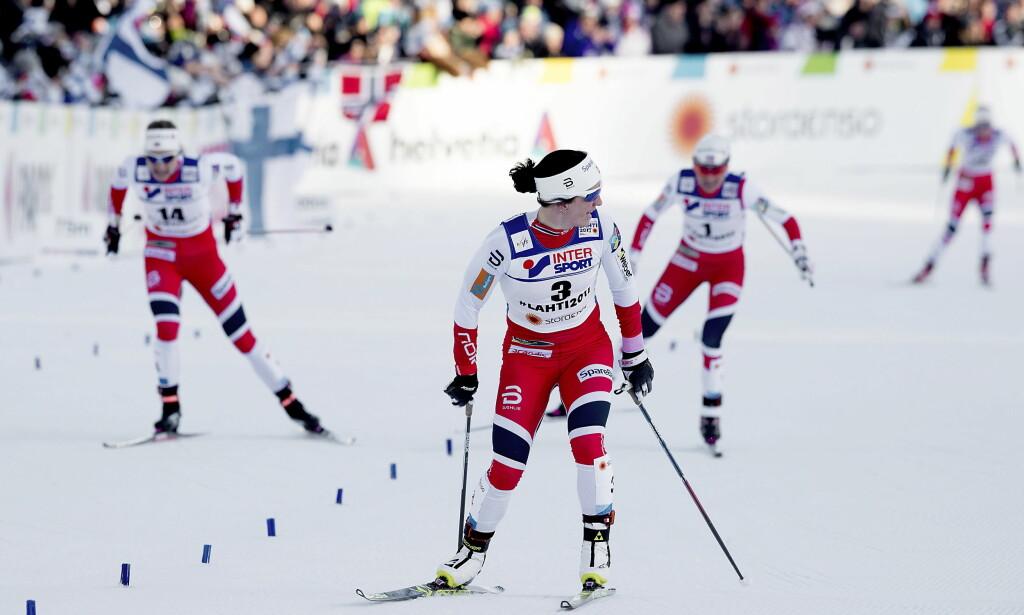 BEST I VERDEN: Marit Bjørgen har astma og er best i verden i sin idrett. Hun er på ingen måte alene om det. Foto:  Bjørn Langsem / Dagbladet