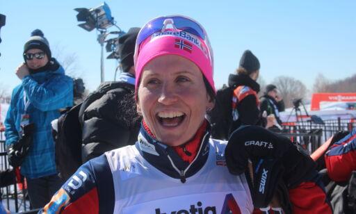 image: Bjørgen overrasket landslagstreneren da hun spurtslo Weng