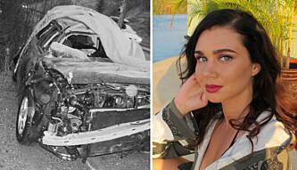 «Paradise»-Sophie var ikke til å kjenne igjen etter dramatisk bilulykke