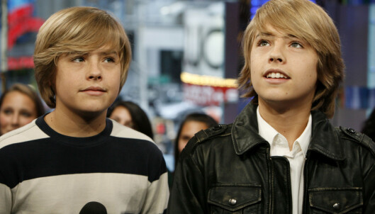 <strong>RADARPAR:</strong> Dylan og Cole Sprouse, i «Zack &amp; Cody»-perioden. Foto: NTB Scanpix
