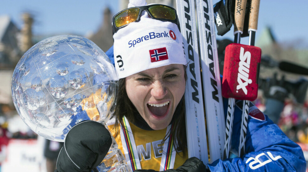 TJENTE GROVT: Heidi Weng vant verdenscupen og Tour de Ski - det ga henne store summer. Foto: Jacques Boissinot / The Canadian Press via AP / NTB / Scanpix