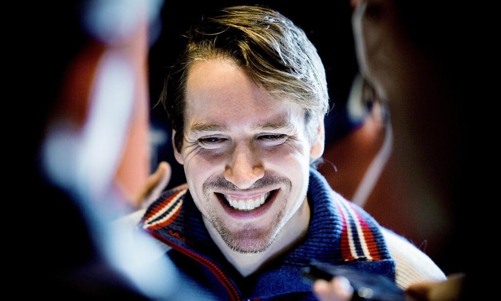 SNILL GUTT: Emil Hegle Svendsen gliser og sier han er blitt snill gutt. Foto: Bjørn Langsem / Dagbladet