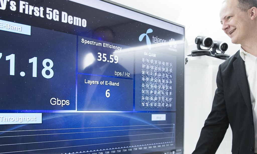 Snart kommer 5G: Gir deg 100 ganger raskere nett