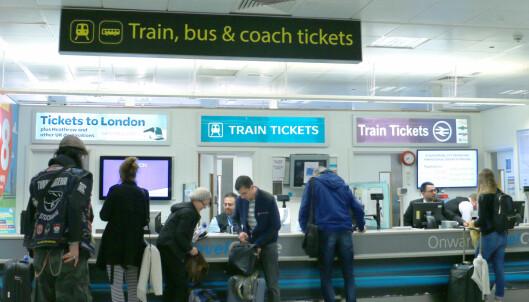 Slik kommer du deg kjapt fra Gatwick til London sentrum