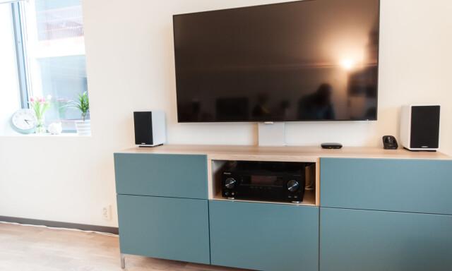 Smarte ressurser TV-benk med stativ - Dette tilbehøret gjør IKEA-løsningen mer RY-96