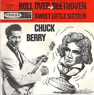 Chuck Berry rokker ved musikken klassikere.