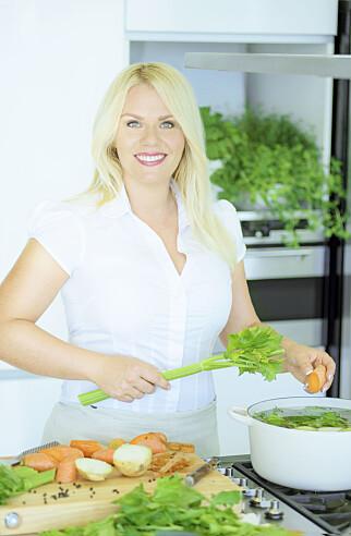 image: - Sjokkerende hvor mye junk food vegetarianere dytter i seg