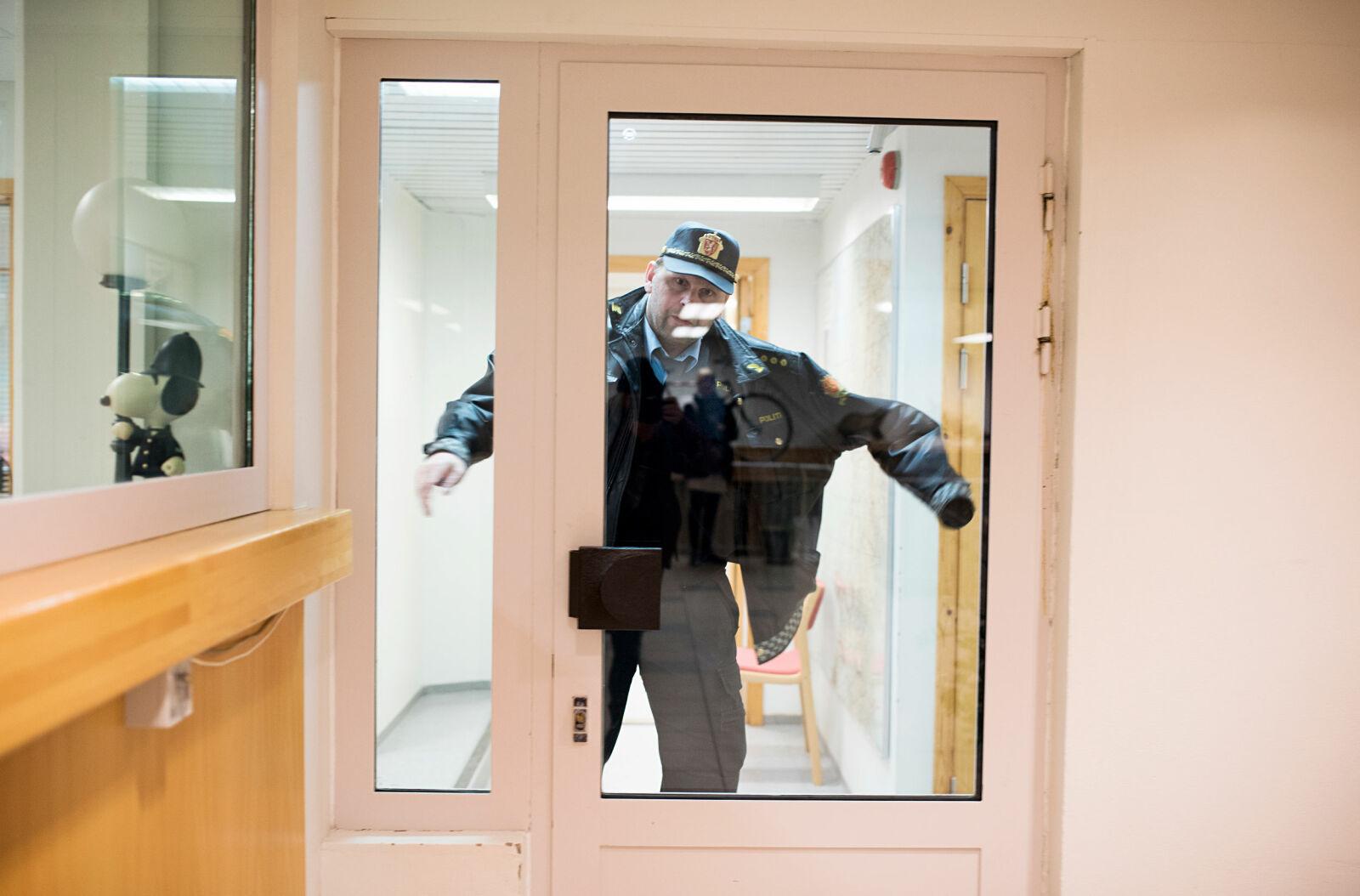 Politibetjenten: - Han ble fort sliten, så det ble en kort samtale, sier Tom Rune Brøndbo.