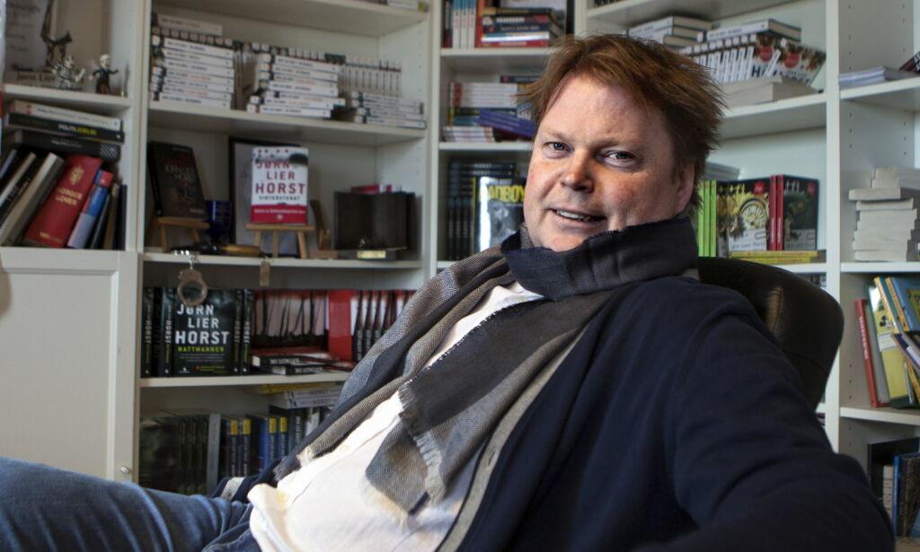 image: Jørn Lier Horst er bekymret for serien om William Wisting