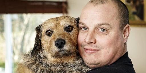 image: Matfar Uffe har brukt 100.000,- på kreftbehandling til hunden