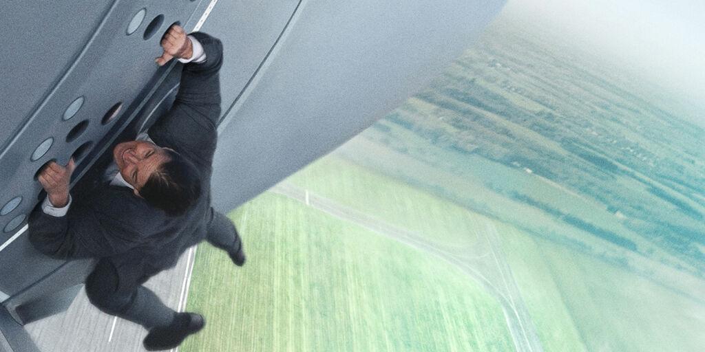 image: Tom Cruise har trent i et år for det ekstreme stuntet